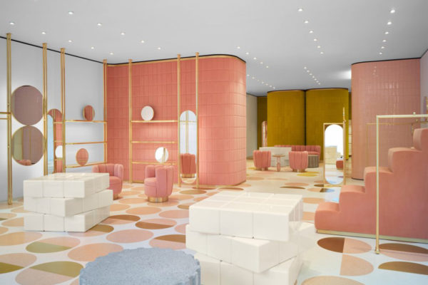 RED Valentino London by India Mahdavi | IndesignLive