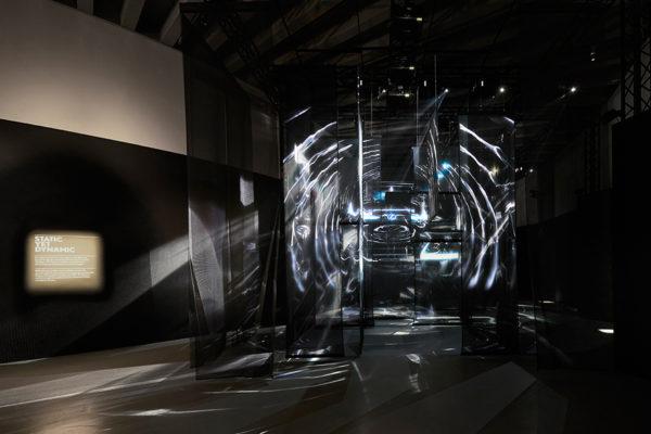The Lexus Design Award exhibition space by Neri Oxman