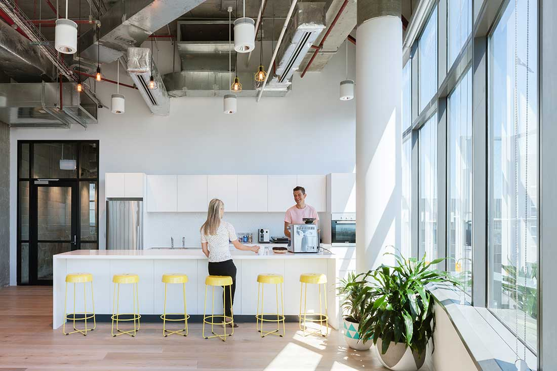 Intuit by gensler a global company s uniquely sydney for Kitchen companies sydney