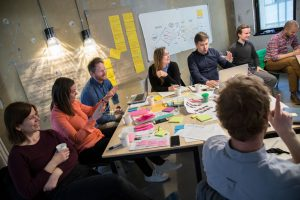 A Scandinavian Business Seating team workshop