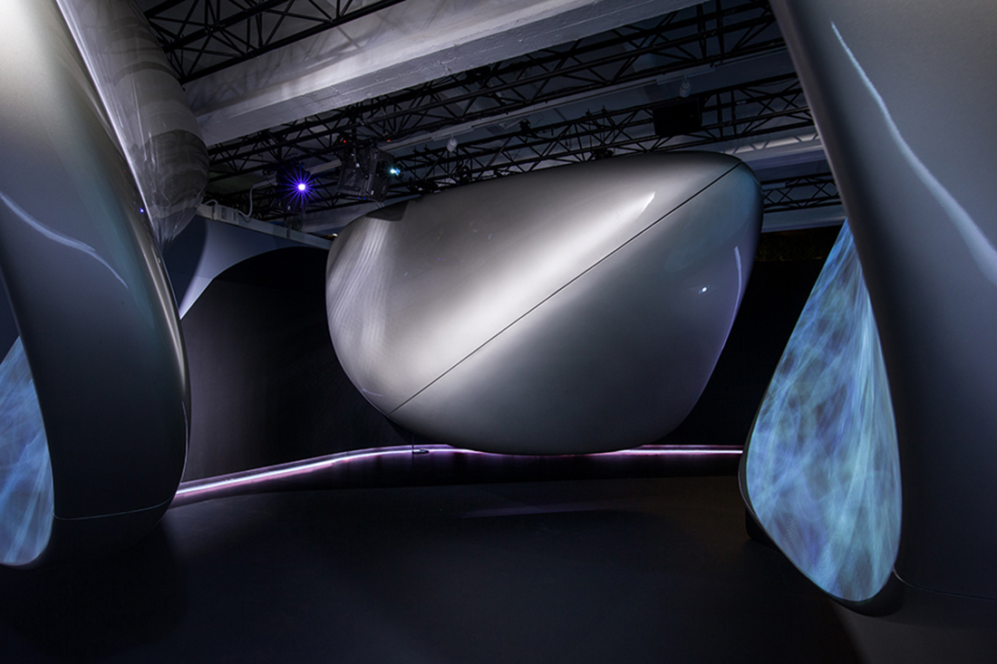 Salone 2017 Unconfined By Zaha Hadid Architects For