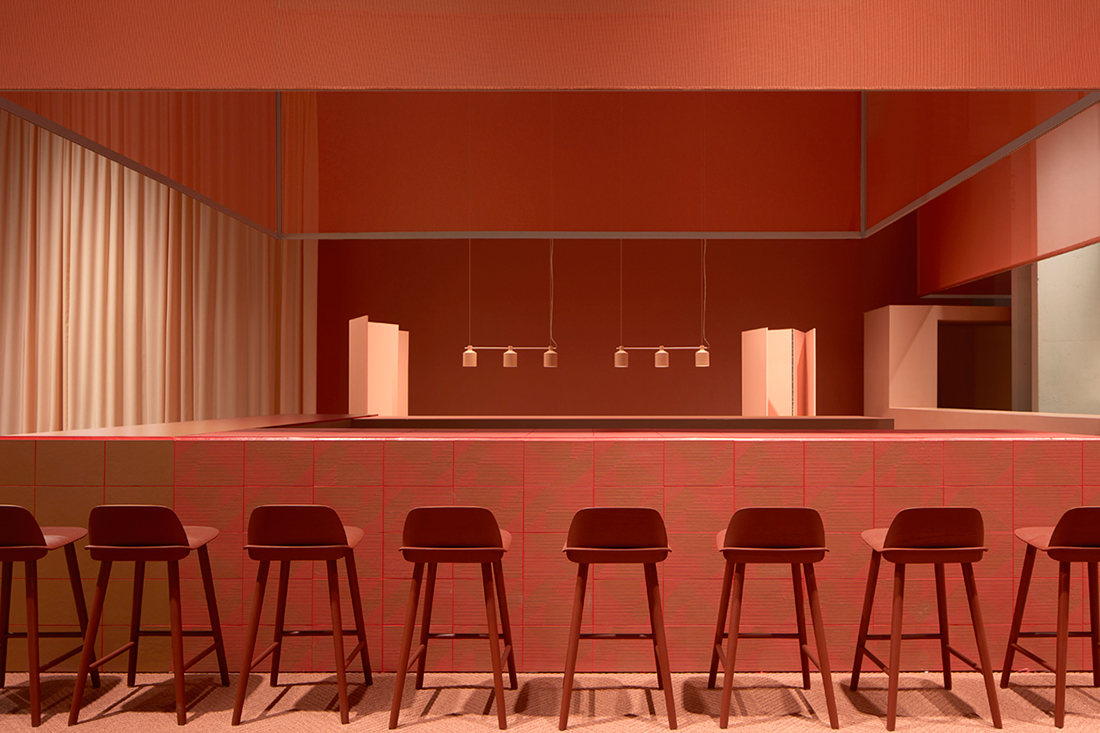 Restaurant Furniture Exhibition : The design bar at this year s stockholm furniture fair was